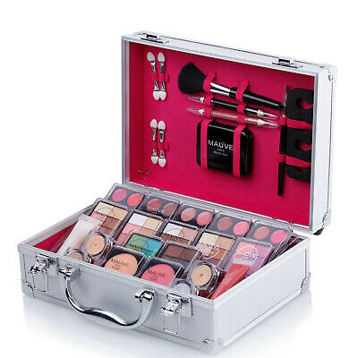 Makeup Set Ladies Girls Gift Cosmetics Collection Carry Box Travel Vanity Case