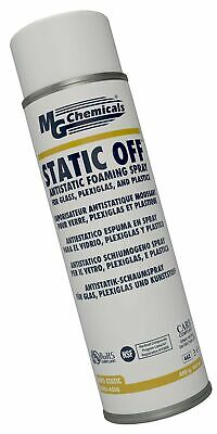 MG Chemicals 826 Static Off Antistatic Foaming Cleaner, 450 g Aerosol Can, Cl...