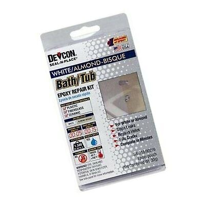 Devcon Epoxy Bathtub Repair Kit (Almond & White) 1 Pack Almond