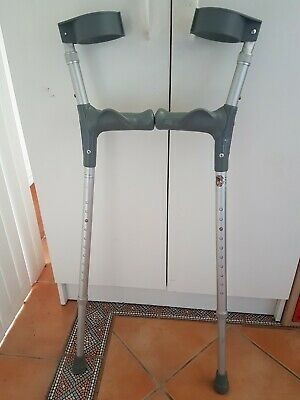 Forearm Elbow Crutches adjustable height Max weight 113kg