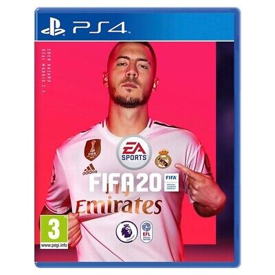 FIFA 20 (PS4) In Stock New & Sealed UK PAL Free UK P&P - No Reserve!
