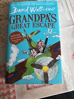 Grandpa's Great Escape by David Walliams (Hardback, 2015)