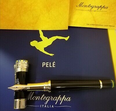 Montegrappa Pele P10 Fountain Pen F Nib- Isicp2Sc- #0654/1940- New In Box