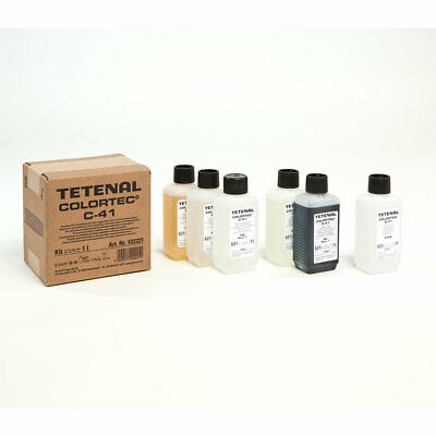 Tetenal Colortec C-41 Negative Rapid 2 Bath Kit 1L