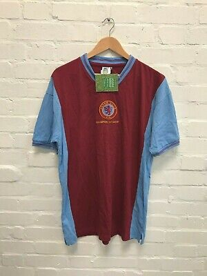 Aston Villa Score Draw Men's 1982 Home Shirt - XL - Claret - NWD