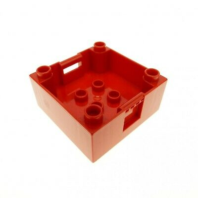LEGO Duplo 1x Kiste Container Aufsatz orange 47423