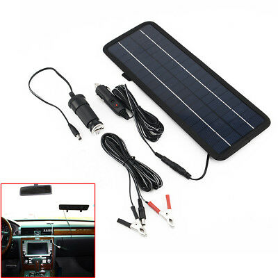 10W 12V Car Boat Yacht Solar Panel Trickle Battery Charger Outdoor Power Supply