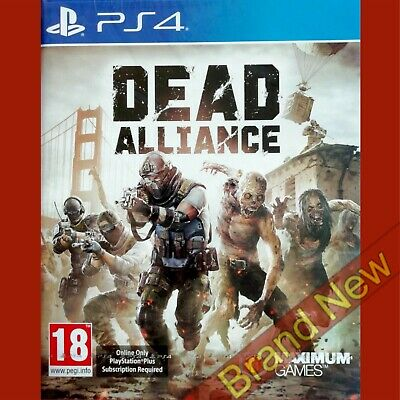 DEAD ALLIANCE - PlayStation 4 PS4 ~18+ UK Stock Brand New & Sealed!