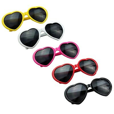 Girls Children Kids Holiday Party Heart Shaped Love Sunglasses Shades Cheap Gffa