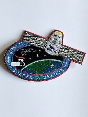 SpaceX Employee Numbered Patch: CRS-11 with employee serial number Falcon 9 NASA