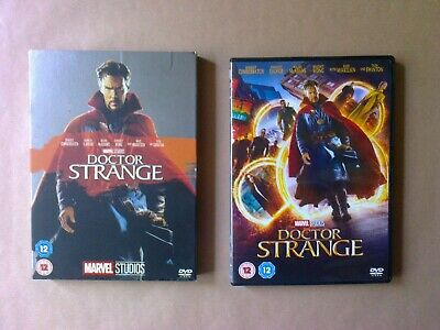 Doctor Strange (DVD, 2017) with O-Ring Slipcase