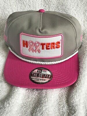 Chase Elliott Hooters Pink Race Day New Era Golfer Hat #9