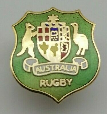 The Australia National Rugby Union Team Wallabies Pin Badge, Rugby World Cup RWC