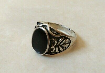 Rare Ancient Antique Roman Legionary Ring Metal Color Silver Artifact Authentic