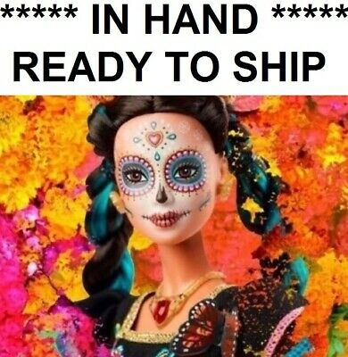 BARBIE CATRINA DAY OF THE DEATH DEAD DOLL MEXICO DIA DE MUERTOS Confirmed stock!