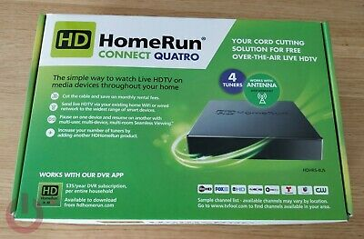 Silicondust HDhomerun CONNECT QUATRO OTA TV Network Tuner HDHR5-4US