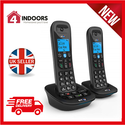 BT BT3950 Twin Digital Cordless Phone, with Call Blocking & Answer Machine - New