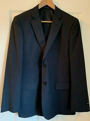 NEW French Connection Mens Single Breasted Navy Blazer 40R