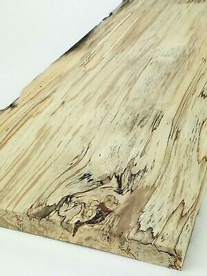 "Character English Spalted Beech wood boards.  25mm (1"") thick.  Plank, shelf."