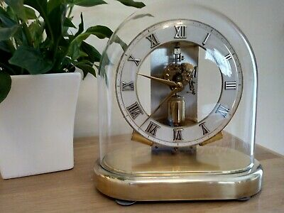 Junghans ATO MAT Electro Mech/Magnetic Mantel Clock. Good working condition.