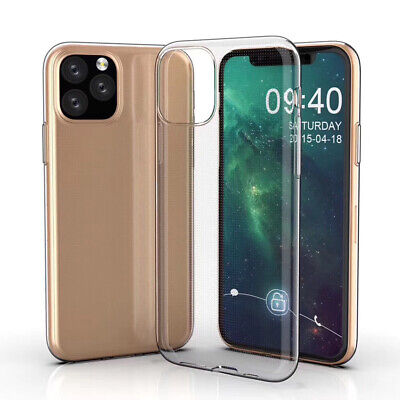 Ultra Thin Coque Shell Protective Sleeve Slim Clear Cover Soft TPU Case