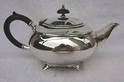 Vintage Antique Victorian  Silver Plated  Teapot Hallmarked  Frank Cobb & Co