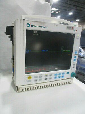 GE Datex Ohmeda S/5 Compact Anesthesia Patient Monitor