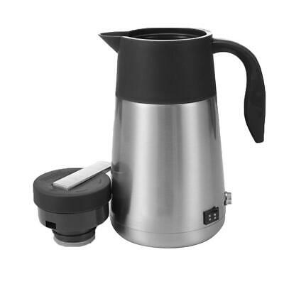 1300ML Car Electric Kettle Portable Water Heater 12V 24V Insulation Pot