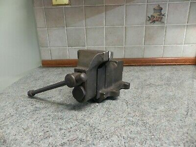 Vintage Bench Vice Engineers Vice With Small Anvil