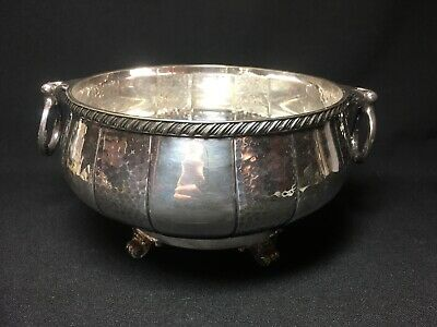Silver Plated EPNS Twin Handle Fruit Bowl - Jonathan Bell
