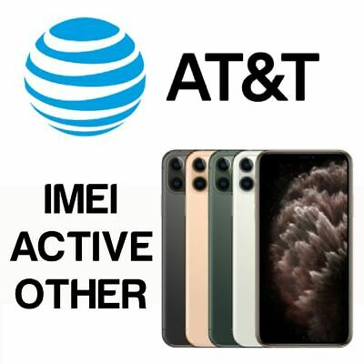At&T Usa Unlock Service Active Other Iphone 11 | 11 Pro | 11 Pro Max | Xs | Xr