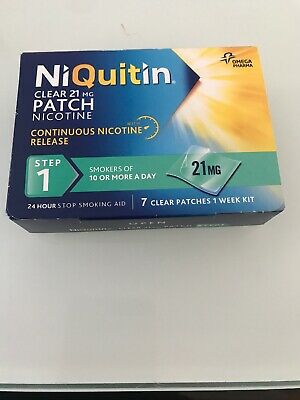 Niquitin STEP1 Patches 1 Week