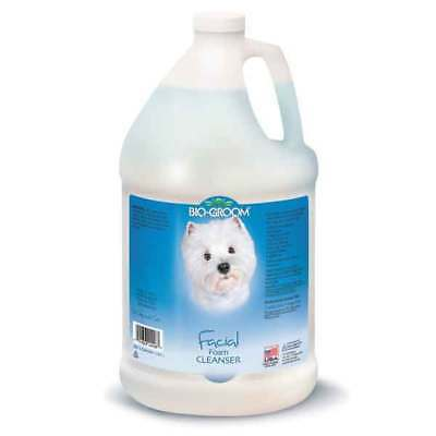 Dog Grooming Facial Foaming Cleanser Mild Hypoallergenic Gentle Treatment Gallon