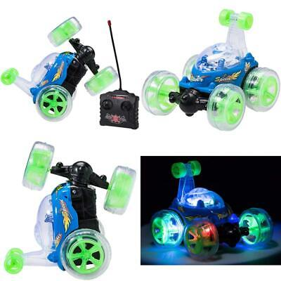 Top Race Remote Control Car Cyclone Twister Rc Stunt Car With Led Lights And Mus