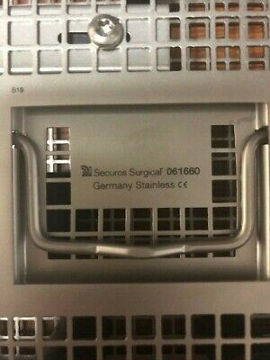 Securos Flap Module Stainless Steel Instrument Tray - TRAY ONLY - 061660 061750