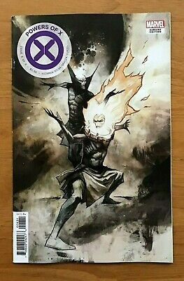Powers of X 6 2019 Mike Huddleston 1:10 Incentive Variant Cover Marvel NM-