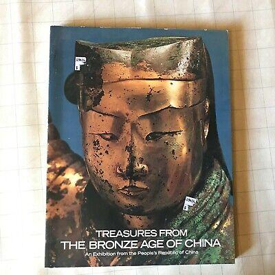 Metropolitan Museum Treasures from the Bronze Age of China Reference Book 1980 !