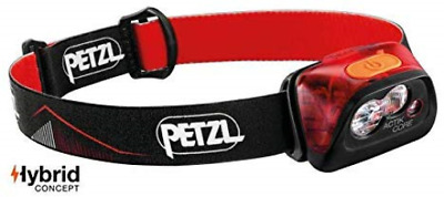 Petzl Unisex's ACTIK CORE HEADLAMP RED, Rot, One