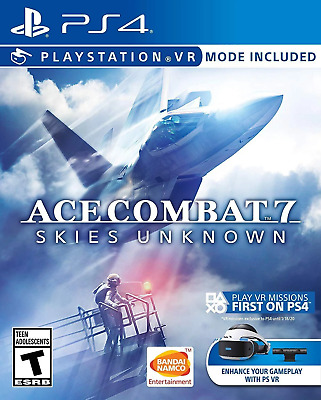 Ace Combat 7: Skies Unknown - VR Compatible PS4 (Sony PlayStation 4, 2019)
