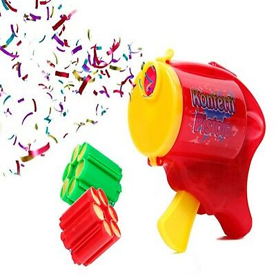 Fashion Confetti Gun Streamer Shooter Wedding Party Birthday Surprise Decor New