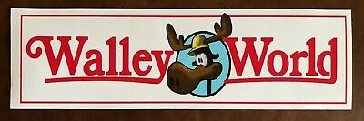 WALLEYWORLD Chevy Chase Lampoon's Vacation bumper sticker-RARE