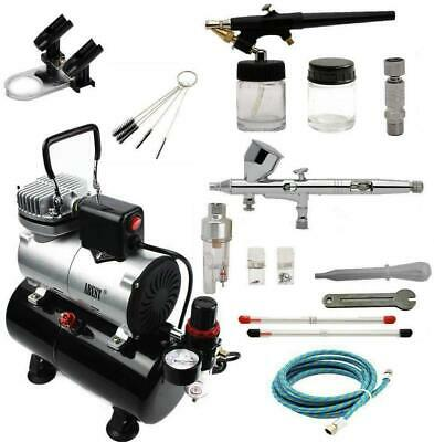 ABEST Complete Professional Airbrush Compressor Kit Multi-Purpose Airbrushing 2