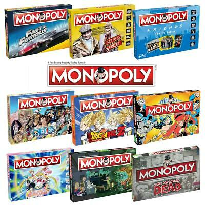 Monopoly TV & Film Board Games > Friends > Only Fools and Horses > WWE and more