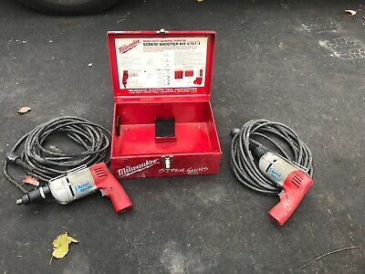 Milwaukee Corded Screw Guns With Box