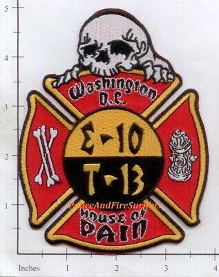 Washington DC - Engine 10 Truck 13 District of Columbia Fire Dept Patch