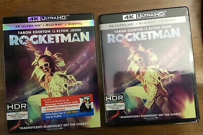 Rocketman 4K UHD with Slip Cover - Brand New 4K + BLU-RAY + DIGITAL BRAND NEW
