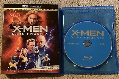 X-Men: Dark Phoenix (Blu-Ray Disc ONLY + Slipcover/Blank Case) SEE DETAILS!