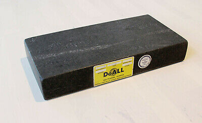 "DoALL Black Granite 6x12x2"" inches Dressing and Deburring Stone for Gage Blocks"
