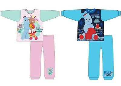 Boys Girls Baby Toddler In The Night Garden Long Sleeve Pyjamas pjs 12m-4yrs