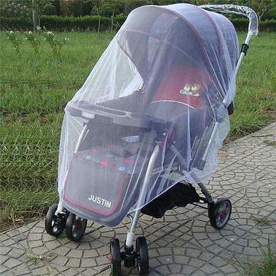 UK Baby Buggy Pram Mosquito Cover Net Pushchair Stroller Fly Insect Protector